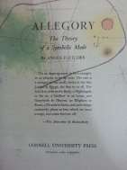 ALLEGORY - The Theoty of a Symbolic Mode 복사본 -
