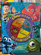 Disney, Pixar CD Storybook (4-In-1 Disney Audio CD + Storybooks)