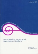 Complexity, Logic, & Recursion Theory