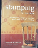Stamping for the Home [홈 스템핑] /사진의 제품  ☞ 서고위치:RN 4