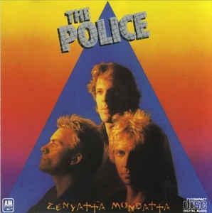 [수입] Police - Zenyatta Mondatta