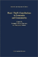 Henri Theil's Contributions to Economics and Econometrics, 3-Vols. (Advanced Studies in Theoretical and Applied Econometrics, Vol.23~25)  (ISBN : 9780792316664)