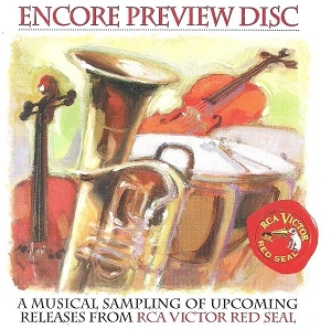 encore preview disc - rca victor red seal