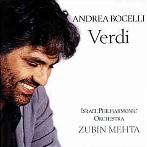 [수입] Andrea Bocelli - Verdi