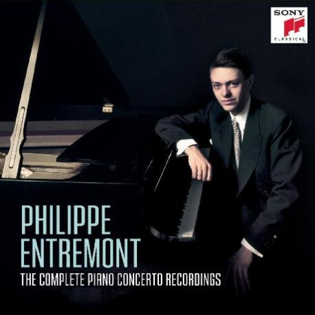 PHILIPPE ENTREMONT - THE COMPLETE PIANO CONCERTO RECORDINGS [필립 앙트르몽: 피아노 협주곡집]