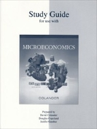 Study Guide for Use with Microeconomics, 6/ed (ISBN : 9780073026947)