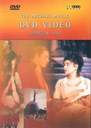 the arthaus musik - dvd video sampler 2002