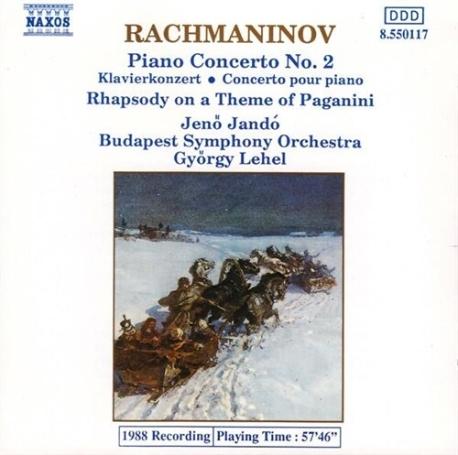 [수입] 라흐마니노프 : 피아노 협주곡 2번, 파가니니 주제 변주곡
