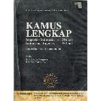 Kamus Lengkap (English - Indonesia Dictionary) by Wojowasito S Tito Wasito W #