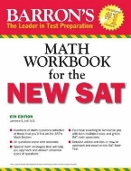 Math Workbook for the New SAT 6th edition