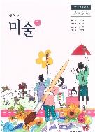 중학교 미술 1 교과서 아침/2015개정/새책수준