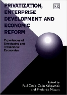 Privatization, Enterprise Development and Economic Reform : Experiences of Developing and Transitional Economics  (ISBN : 9781858983769)