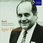 Igor Oistrakh, Natalia Zertsalova / Bach : Sonata For Violin And Harpsichord No.4, 5, 6 (YCC0107)