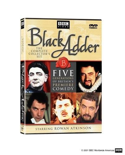 [수입] Black Adder: Ultimate Edition (블랙 애더)(지역코드1)(한글무자막)(6DVD) 영미판 Black Adder: The Complete Collector's Set