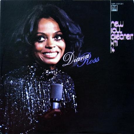 [일본반][LP] Diana Ross - New Soul Greatest Hits 14