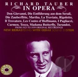 [미개봉] Richard Tauber / Richard Tauber In Opera - Opera Arias (수입/미개봉/AB78537)