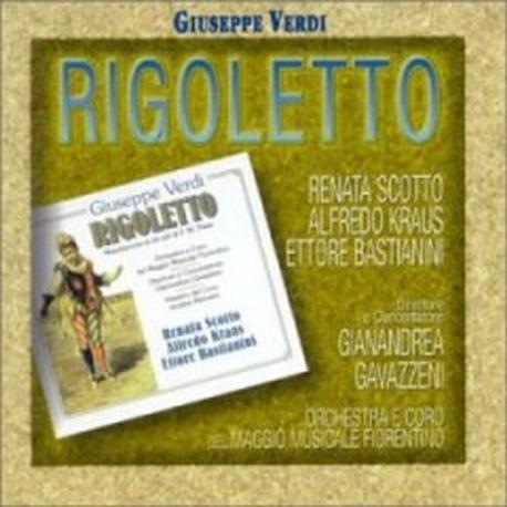 Renata Scotto, Alfredo Kraus, Gianandrea Gavazzeni / 베르디 : 리골레토(2CD/수입/74321687792)