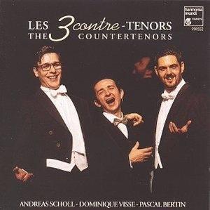 Pascal Bertin, Andreas Scholl, Dominique Visse / 삼인의 카운터 테너(수입/HMC901552)