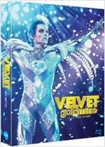 [블루레이] 벨벳 골드마인 (Velvet Goldmine) [풀슬립 넘버링 한정판] [무비스틸카드(8종)+40p.책자/아웃케이스 포함]