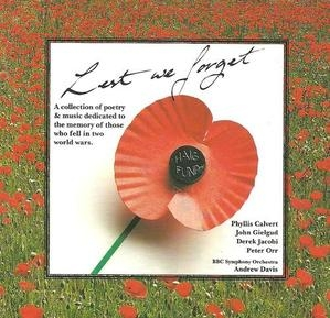 Andrew Davis / Lest We Forget: Poetry and Music of Remembrance (수입/0630102012)