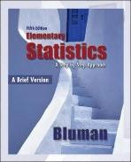 Elementary Statistics : A Brief Version (5th Edition)