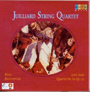 [수입] Juilliard String Quartet ?? Berg: Lyric Suite / Beethoven: Quartet No. 16 Op. 135
