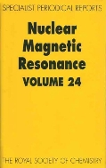 Nuclear Magnetic Resonance, Vol. 24 : A Review of the Literature published between June 1993 and May 1994 (A Specialist Periodical Report)  (ISBN : 9780854043026)
