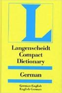 Langenscheidt Compact Dictionary German/English-English/German (Hardcover)