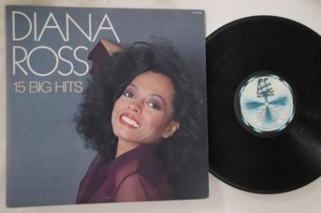 [일본반][LP] Diana Ross - 15 Big Hits