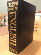 Concise Oxford Dictionary (Hardcover, 9th edition)