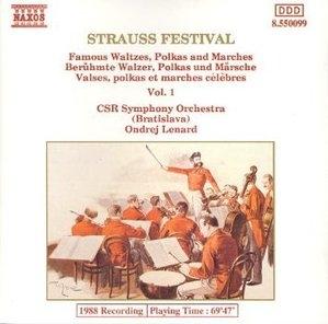 [중고] Ondrej Lenard / Strauss Festival (수입/8550099)