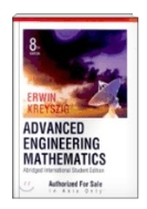 Advanced Engineering Mathematics [Abridged]8th Edition/International Student Edition