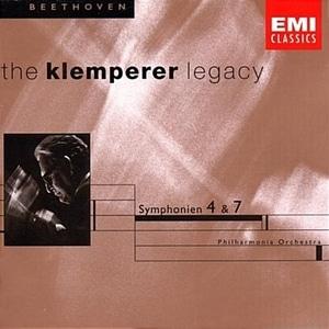 Otto Klemperer / 베토벤: 교향곡 4, 7번(수입/5667952)