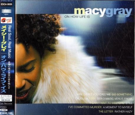 [일본반] Macy Gray - On How Life Is [+1 Bonus Track]
