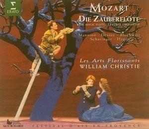 Natalie Dessay, William Christie / 모차르트 : 마술피리 (Mozart : Die Zauberflote K.620) (2CD/수입/0630127052)
