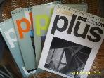플러스문화사 4권/ 월간 플러스 plus 1997. 5. 10.11.12월호. 121.126.127.128호 -부록없음. 꼭상세란참조
