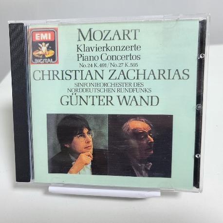 Wolfgang Amadeus Mozart - Piano Concertos No.24 and No.27 Christian Zacharias, Gunterwand
