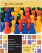 Human Resource Management (Paperback)  Gaining a Competitive Advantage  (8/E)
