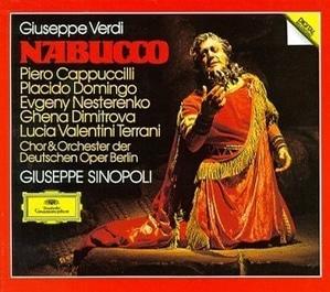 [미개봉] Giuseppe Sinopoli / 베르디 : 나부코 (2CD/수입/4105122)