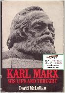[영어원서] Karl Marx - His life and thought (칼 마르크스, 1973년) [양장]