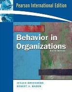 Behavior in Organizations 9/E