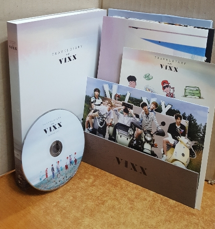 TRAVEL DIARY WITH VIXX [포토북+DVD] -최상에 가까운 상급/실사진 참고하세요