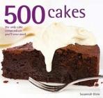 500 Cakes (Hardcover)