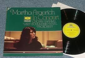 MARTHA ARGERICH in concert CHOPIN RAVEL BRAHMS ... ///LP11