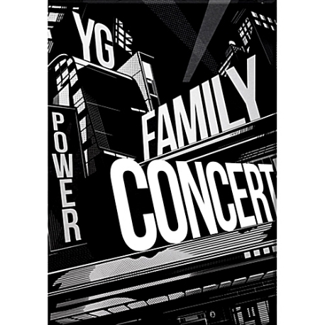 2014 YG Family Concert In Seoul Live [3CD+200p 포토북] (홍보용 음반)