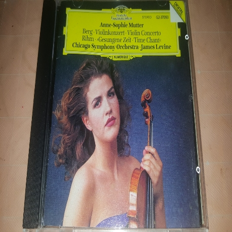 Anne-Sophie Mutter : Berg Violin Concerto 외