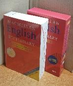 MACMILLAN ENGLISH DICTIONARY(PAPER BOOK INCLUDES CD-ROM) =CD 없음/책머리 이니셜 표기외 깨끗/실사진 참고하세요
