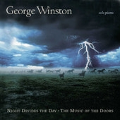 [미개봉] George Winston / Night Divides The Day - The Music Of The Doors