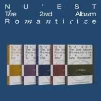 [미개봉] 뉴이스트 (Nu'est) / 2집 - Romanticize (5종 커버 중 1종 랜덤 발송)