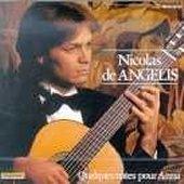 Nicolas De Angelis / Quelques Notes Pour Anna